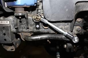 disconnect frt sway bar end links jeep jk