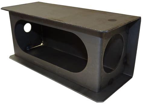 trailer light mounting box light box for 6 quot oval lights light guards brackets