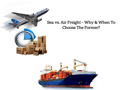 sea  air freight    choose