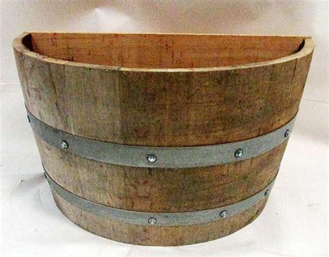 barrel planter quarter barrel planter
