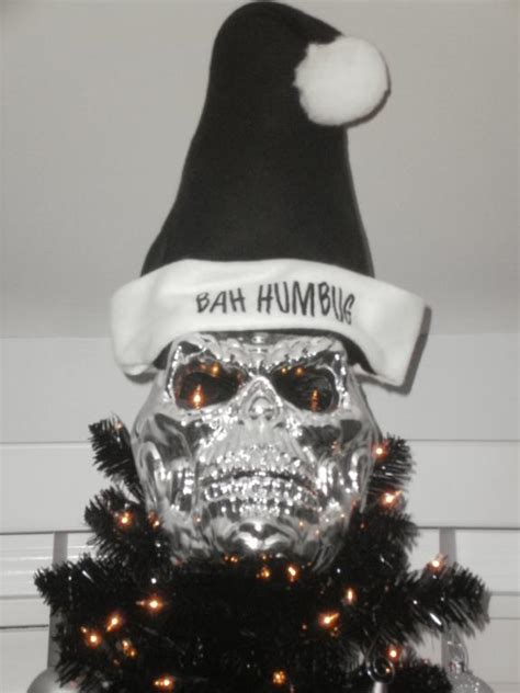 skull christmas tree toppers tree decorating ideas for treetopia