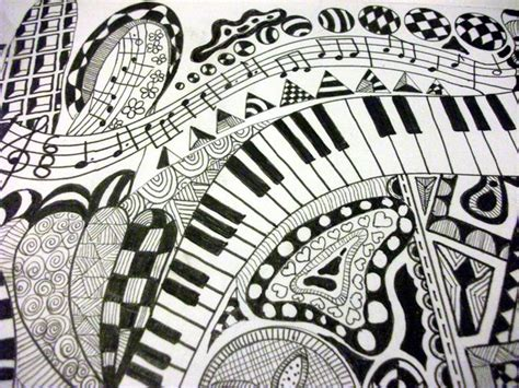 zentangle love pattern mom said if i could play a different instrument she would