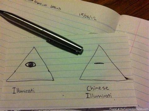 Illuminati Triangle Meme - chinese illuminati funniest pictures