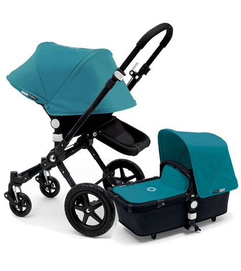 bugaboo cameleon 3 gestell bugaboo 2015 cameleon 3 stroller all black petrol blue