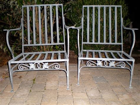 antique wrought iron patio furniture plain antiques salterini wrought iron patio furniture