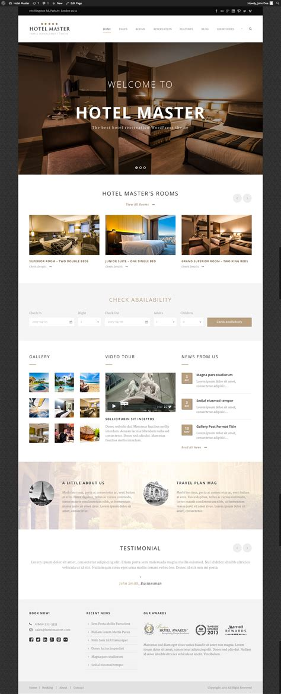 theme hotel master hotel wordpress theme hotel master by goodlayers