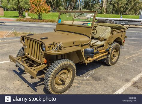 willys jeep ww2 ww2 restored willys jeep stock photo royalty free image