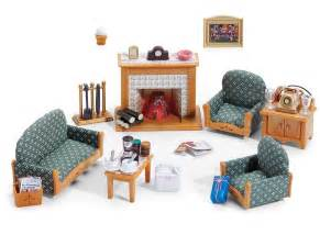 Sylvanian Living Room Set Calico Critters Deluxe Living Room Set Furniture