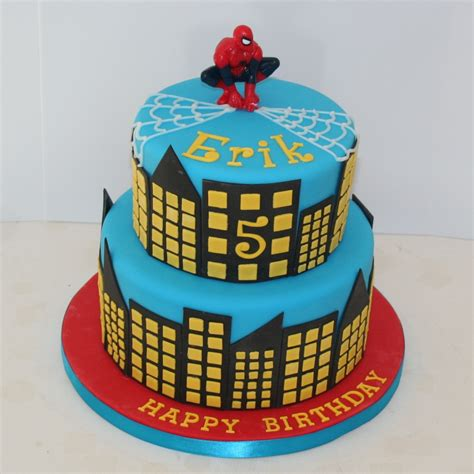 Home Decorator Website by Spiderman Cake 2 Tier