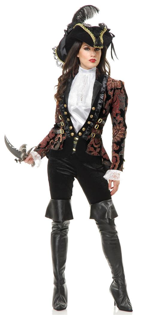pirate costume patterns on pinterest sultry female pirate lady adult costume womens pirate