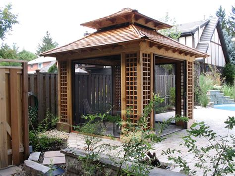 japanese pergola designs outdoor goods