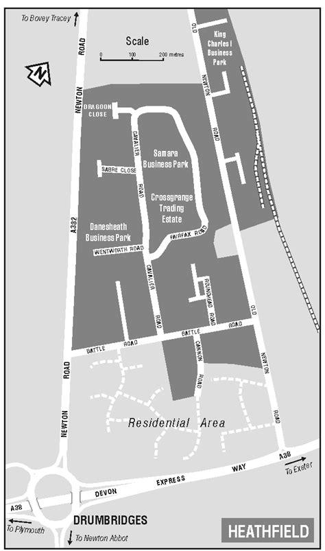 Newton Abbot Freight Route Maps