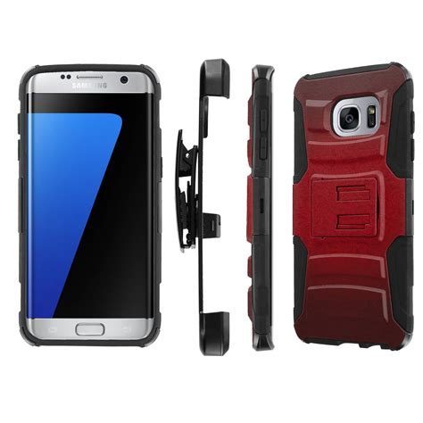 Samsung Galaxy S7 Future Armor With Holster Backcase Casing Cover for samsung galaxy s7 edge armor kickstand holster screen protector i ebay
