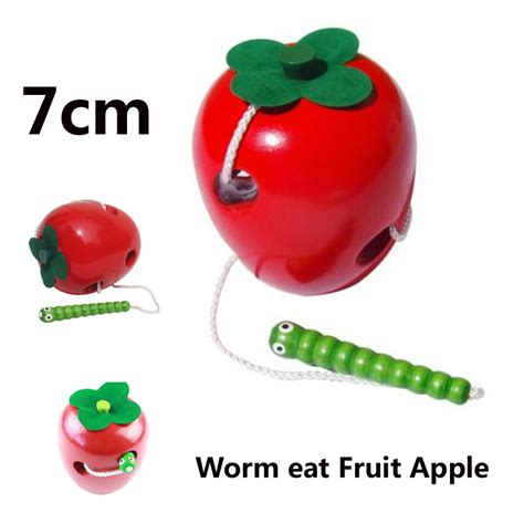 Buy 1 Get 1 Promo Apple Learning Qu Ran aliexpress buy montessori baby wooden toys learning and education children colorful