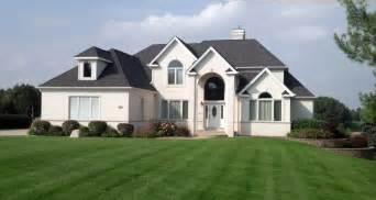 Home White Brick Home Michael Arnold Masonry