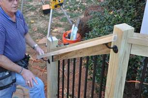 banister railing code step by step for how to install deck stair