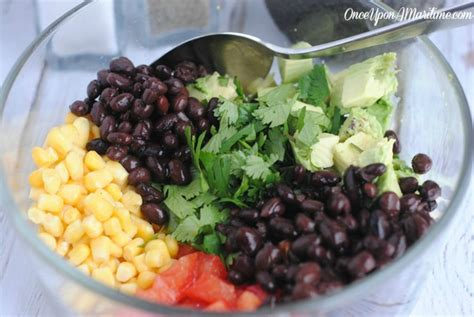 Fast Easy Dinner Black Bean Cobb Salad by Avocado Salad Barefoot Contessa