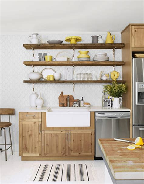 kitchen shelves design ideas kitchen wall shelf ideas