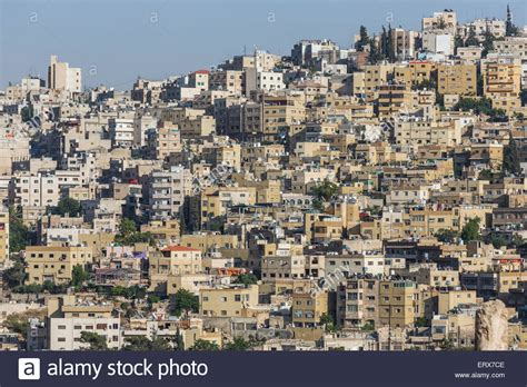 urban housing dense urban housing in amman jordan stock photo royalty free image 83555150 alamy