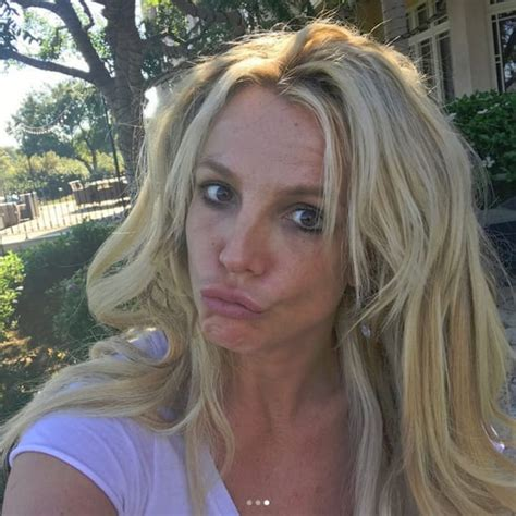 stars without makeup on instagram in 2017 britney spears no makeup selfie the hollywood gossip