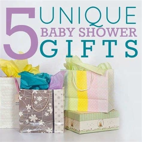 Baby Shower Gofts by 5 Unique Baby Shower Gifts Daily