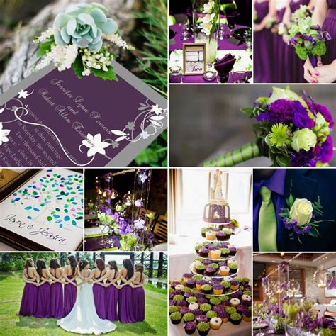 green purple midnight magic south africa wedding