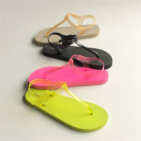 summer sandals 2015 2015 s summer sandals flat casual sandals pvc