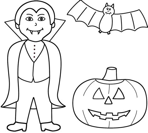 happy halloween pumpkin coloring pages festival collections