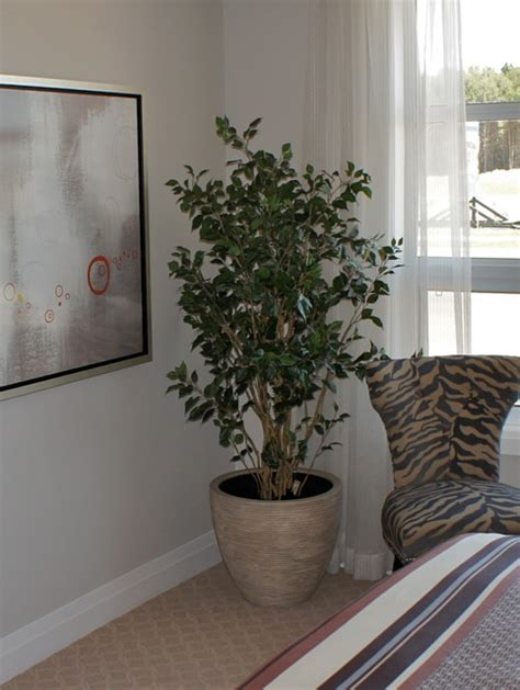 fake tree for bedroom artificial floral arrangements and trees contemporary bedroom ottawa by