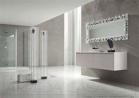 specchio per bagno moderno arredo bagno moderno specchio classico esc18 prezzo