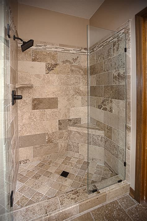 Small Bathroom Remodel Ideas Pinterest bathroom remodel travertine tile shower excellence in