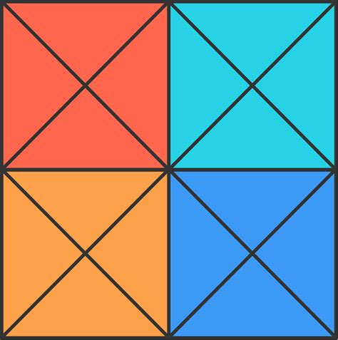 Triangle Square how many triangles in a square