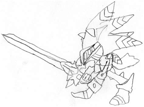 excalibur sonic sketch by bradry on deviantart