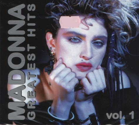 Cd Madonna madonna greatest hits vol 1 cd at discogs
