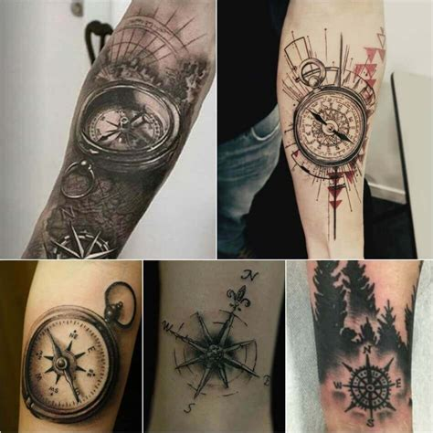 compass tattoos meaning compass designs popular ideas for compass tattoos