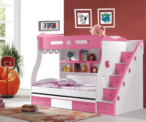 Bunk Beds Bedding Girly Bunk Beds For And Teenagers Midcityeast