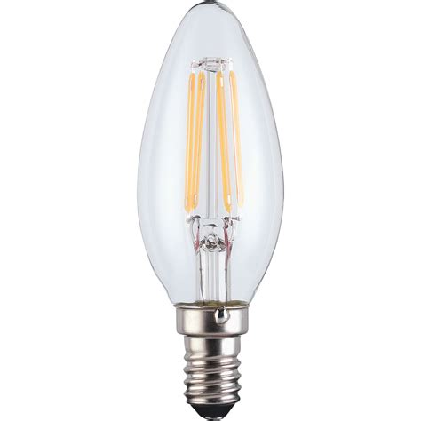 Candle L Bulbs by Wilko Filament Candle Bulb Ses 4w Clear 1pk At Wilko