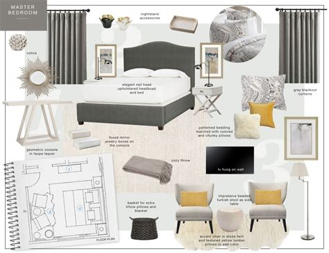 mood board themes for interior design best accessories
