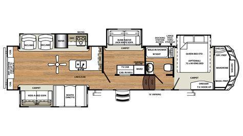 Sandpiper Rv Floor Plans new 2018 forest river sandpiper 371rebh 3579