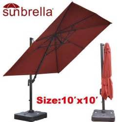 Sunbrella Offset Patio Umbrella Sunbrella Patio Umbrella Ebay