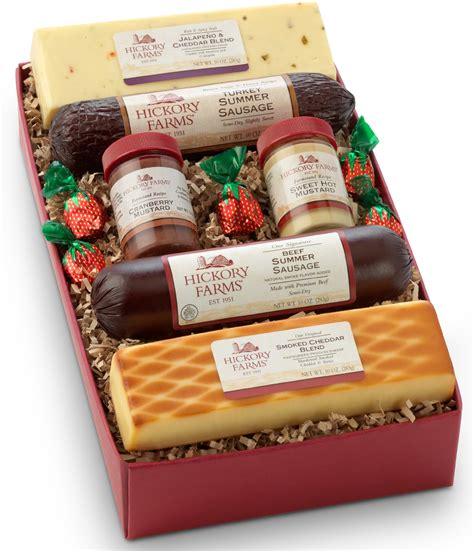 holiday gift ideas from hickory farms gift basket