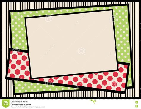 striped pears and polka dots the of being happy books vintage frame with polka dots and stripes background stock