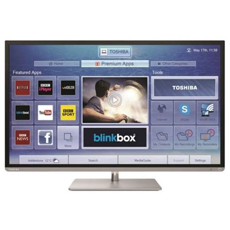 Tv Toshiba Android 40 Inch buy toshiba 40l6353 40 inch smart wifi built in hd 1080p led tv with freeview hd silver
