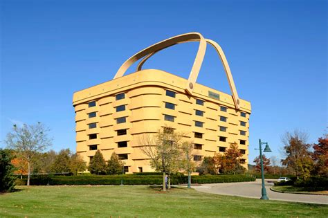 longaberger office for sale no one will buy this building that looks like a basket