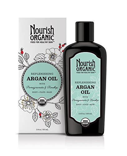 argan oil just how good is it for natural hair review replenishing argan oil by nourish organic