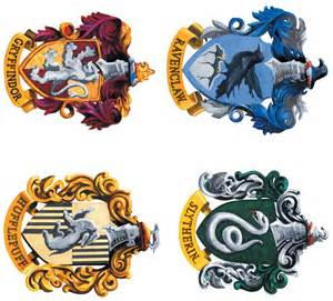 harry potter house free coloring pages of hogwarts house crests