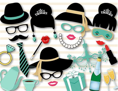 breakfast at t s printable photo booth props printable breakfast at tiffany s photo booth props audrey