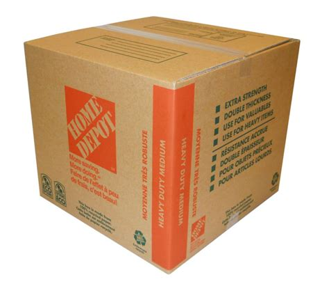 Home Depot Heavy Duty Small Box The Home Depot Heavy Duty Medium Box 18 Inch X 16 Inch X