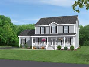 two story home with beautiful front porch dream pinterest house plans design idea landscaping