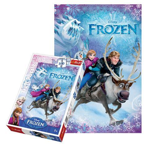 Best Terlaris Puzzle Jigsaw Frozen 100 Pcs Sni trefl 100 disney frozen elsa olaf
